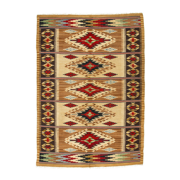 VINTAGE - Diamond Patterned Rug - MAN of the WORLD Online Destination for Men's Lifestyle - 1
