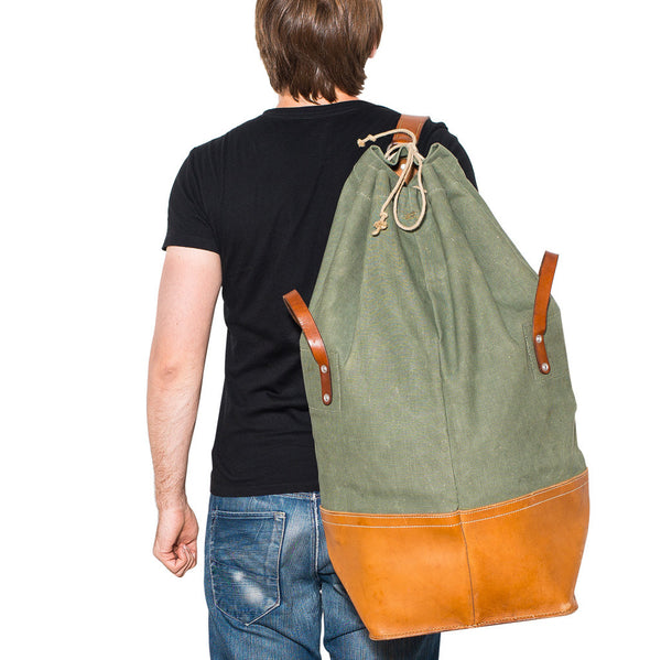 VINTAGE - 70's Swiss Army Duffel Bag - MAN of the WORLD Online Destination for Men's Lifestyle - 10