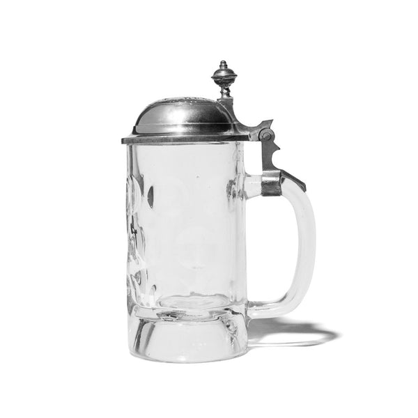 Glass German Beer Stein