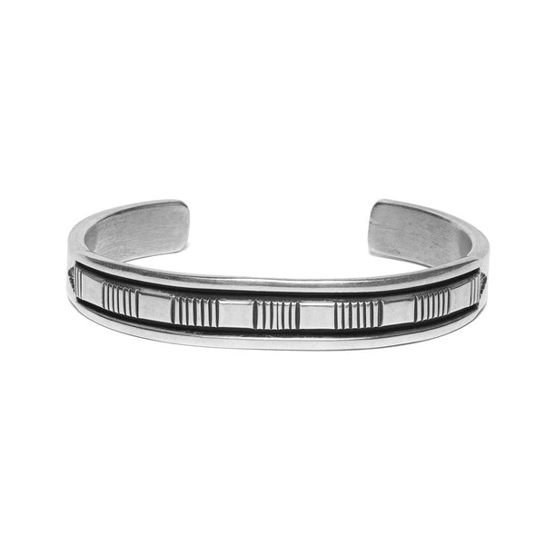 MAN OF THE WORLD - Horizontal Line Side Channel Cuff - MAN of the WORLD Online Destination for Men's Lifestyle - 1