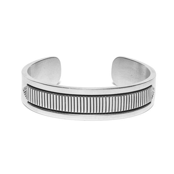 Wide Horizontal Line Cuff