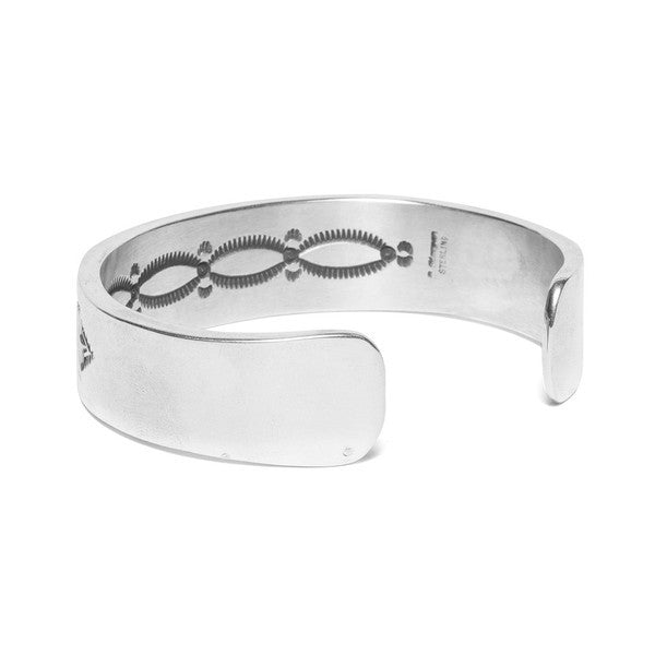MAN OF THE WORLD - Wide Horizontal Line Cuff - MAN of the WORLD Online Destination for Men's Lifestyle - 3