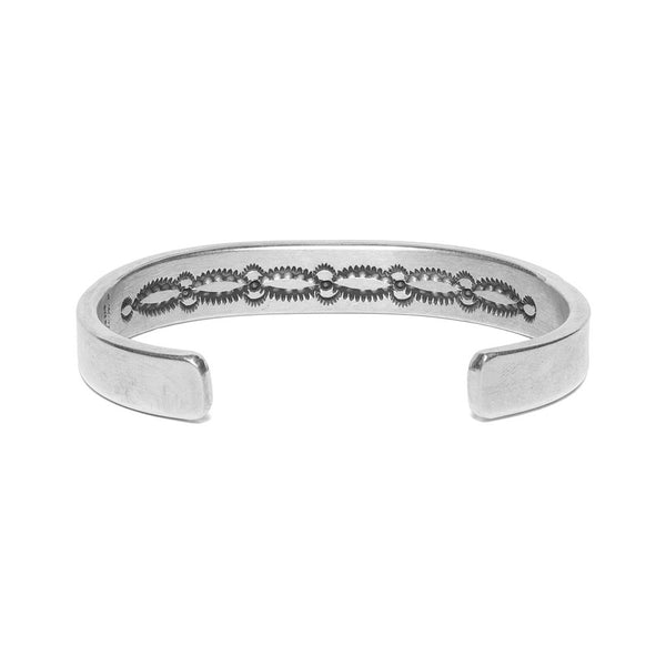 MAN OF THE WORLD - Horizontal Line with Inside Stamping Cuff - MAN of the WORLD Online Destination for Men's Lifestyle - 3