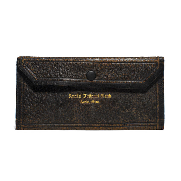 VINTAGE - Leather Bank Pouch - MAN of the WORLD Online Destination for Men's Lifestyle - 1