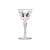 Libbey Glass - Painted Cocktail Glasses - MAN of the WORLD Online Destination for Men's Lifestyle - 1