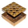 VINTAGE - Medium Brass Geometric Ashtray - MAN of the WORLD Online Destination for Men's Lifestyle - 2