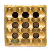 VINTAGE - Medium Brass Geometric Ashtray - MAN of the WORLD Online Destination for Men's Lifestyle - 4