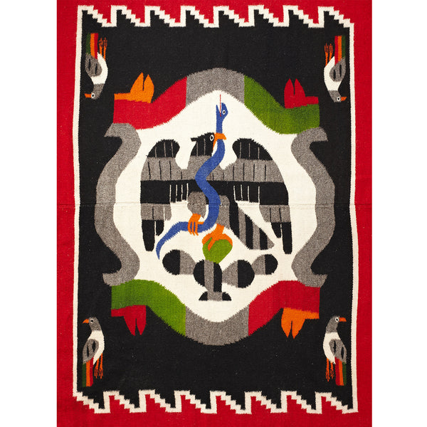 VINTAGE - Mexican Coat of Arms Rug - MAN of the WORLD Online Destination for Men's Lifestyle - 2