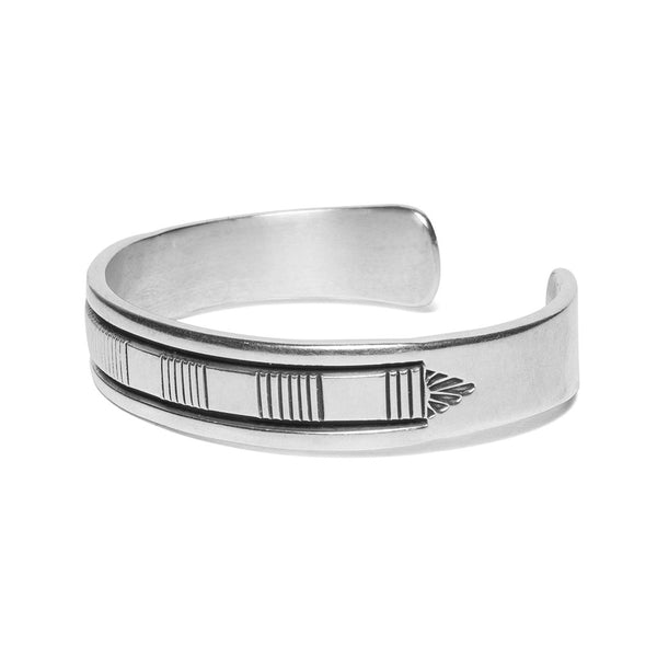 VINTAGE - Morgan Sterling Silver Cuff - MAN of the WORLD Online Destination for Men's Lifestyle - 2