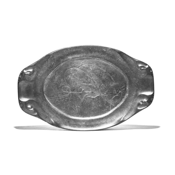 VINTAGE - Oblong Metal Platter - MAN of the WORLD Online Destination for Men's Lifestyle - 2