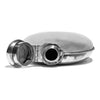 VINTAGE - Oval Sterling Silver Flask - MAN of the WORLD Online Destination for Men's Lifestyle - 5