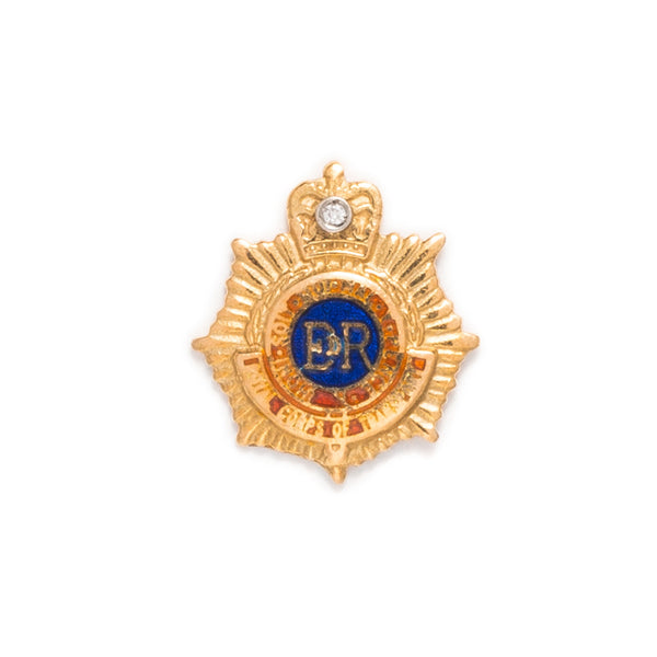 VINTAGE - Royal Army Service Corp ER Pin - MAN of the WORLD Online Destination for Men's Lifestyle