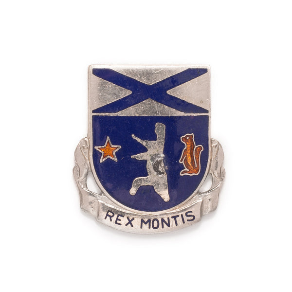 VINTAGE - United States 136th Infantry Regiment Pin - MAN of the WORLD Online Destination for Men's Lifestyle