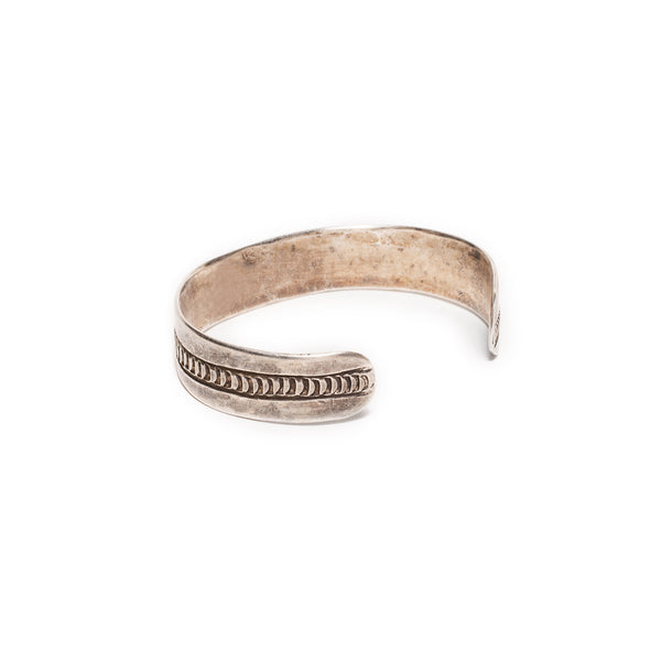 VINTAGE - Raw Sterling Cuff - MAN of the WORLD Online Destination for Men's Lifestyle - 2