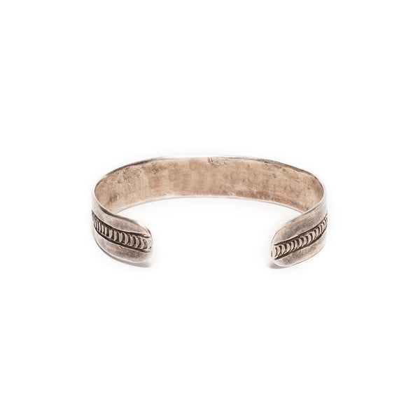 VINTAGE - Raw Sterling Cuff - MAN of the WORLD Online Destination for Men's Lifestyle - 3