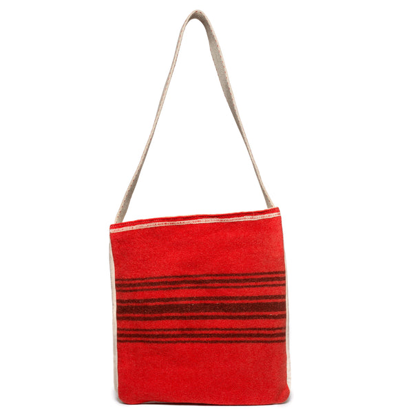 VINTAGE - Red Camp Blanket Bag - MAN of the WORLD Online Destination for Men's Lifestyle