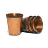 VINTAGE - Set of 4 Shot Glasses in Leather Case - MAN of the WORLD Online Destination for Men's Lifestyle - 4