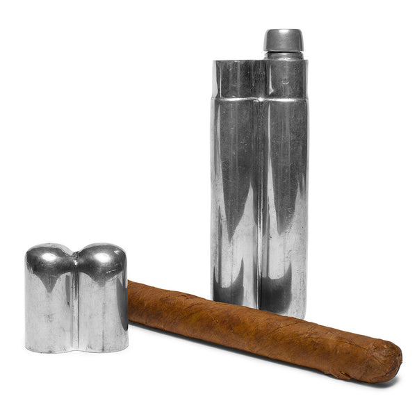 Sheffield - Cigar Case and Flask - MAN of the WORLD Online Destination for Men's Lifestyle - 3