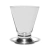 VINTAGE - Silver Rimmed Cordial Glasses (Set of 2) - MAN of the WORLD Online Destination for Men's Lifestyle - 1
