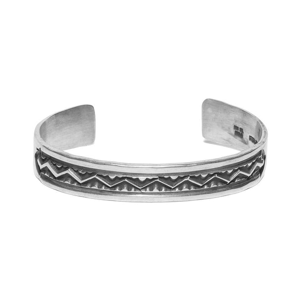 MAN OF THE WORLD - Stamped Zigzag Cuff - MAN of the WORLD Online Destination for Men's Lifestyle - 1