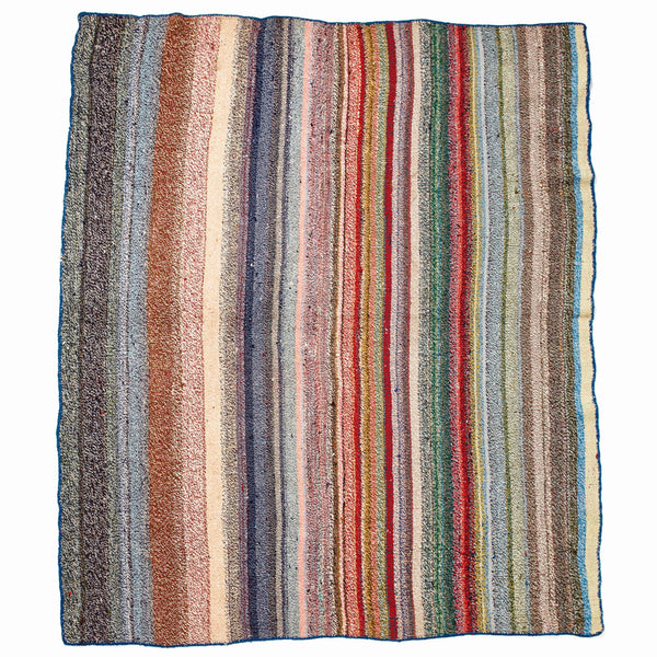 VINTAGE - Striped Chaput Rug - MAN of the WORLD Online Destination for Men's Lifestyle - 1