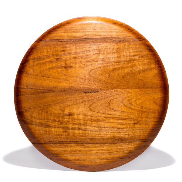 VINTAGE - Swedish Circular Teak Tray - MAN of the WORLD Online Destination for Men's Lifestyle - 2