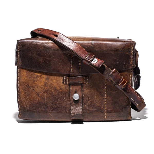 VINTAGE - Swiss Army Leather Bag - MAN of the WORLD Online Destination for Men's Lifestyle - 1