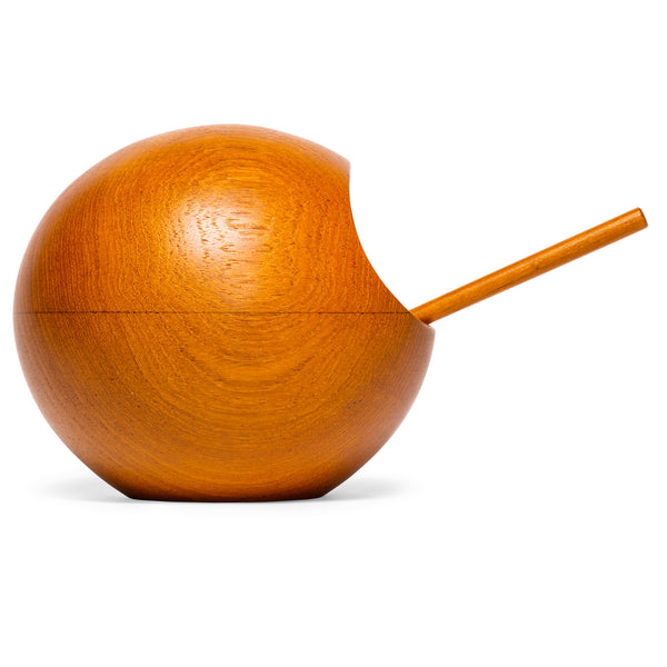 SOWE-KONST - Teak Orb Nut Bowl - MAN of the WORLD Online Destination for Men's Lifestyle - 2