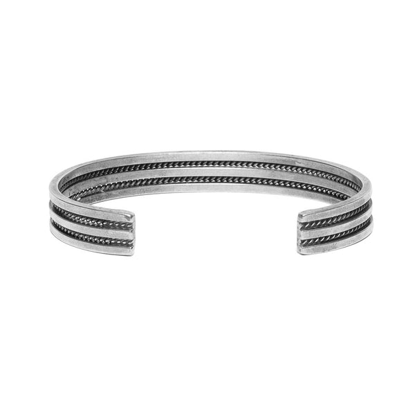 (Vintage) Artalon Internationale - Thin Braided Rope Cuff - MAN of the WORLD Online Destination for Men's Lifestyle - 2
