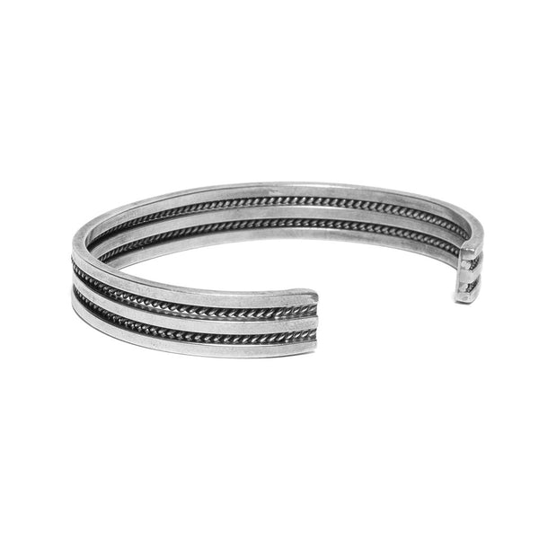 (Vintage) Artalon Internationale - Thin Braided Rope Cuff - MAN of the WORLD Online Destination for Men's Lifestyle - 3