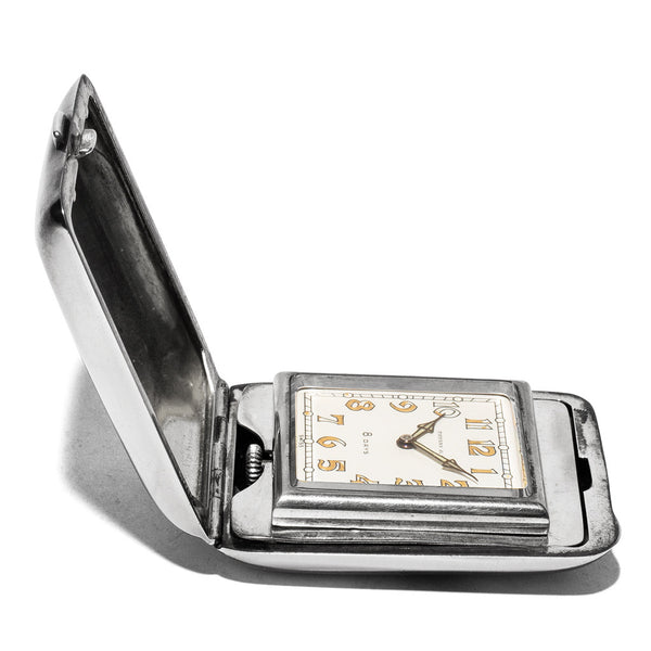 Vintage (Tiffany & Co.) - Miniature Silver Travel Clock - MAN of the WORLD Online Destination for Men's Lifestyle - 5