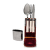 VINTAGE - Travel Military Cutlery Set - MAN of the WORLD Online Destination for Men's Lifestyle - 3
