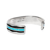 MAN OF THE WORLD - Turquoise Inlay and Zigzag Cuff - MAN of the WORLD Online Destination for Men's Lifestyle - 2