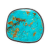 MAN OF THE WORLD - Turquoise Rectangular Belt Buckle - MAN of the WORLD Online Destination for Men's Lifestyle - 1