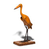 VINTAGE - Wooden and Iron Crane Figure - MAN of the WORLD Online Destination for Men's Lifestyle - 2