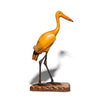VINTAGE - Wooden and Iron Crane Figure - MAN of the WORLD Online Destination for Men's Lifestyle - 3