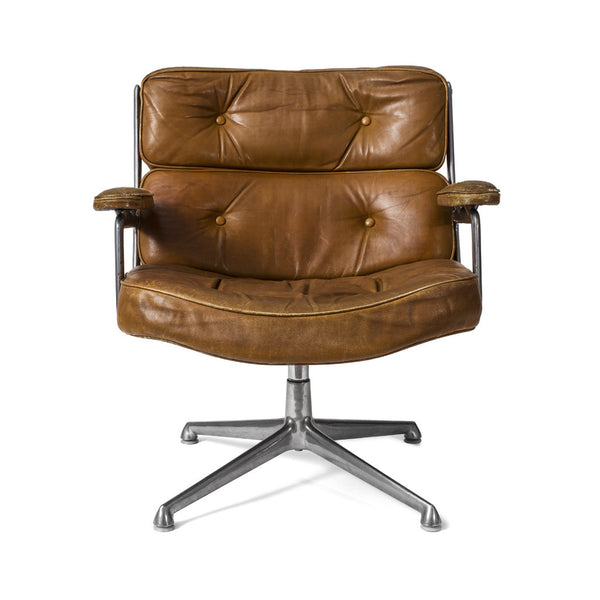 Henry Miller - Eames Executive Swivel Chair - Brown Leather - MAN of the WORLD Online Destination for Men's Lifestyle - 2