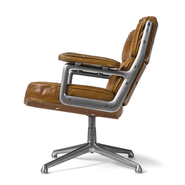 Henry Miller - Eames Executive Swivel Chair - Brown Leather - MAN of the WORLD Online Destination for Men's Lifestyle - 3
