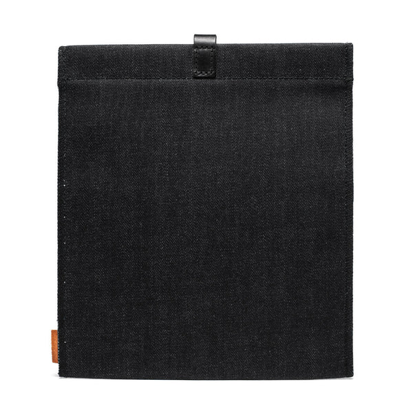 MAN OF THE WORLD - Waxed Denim iPad Sleeve - MAN of the WORLD Online Destination for Men's Lifestyle - 2
