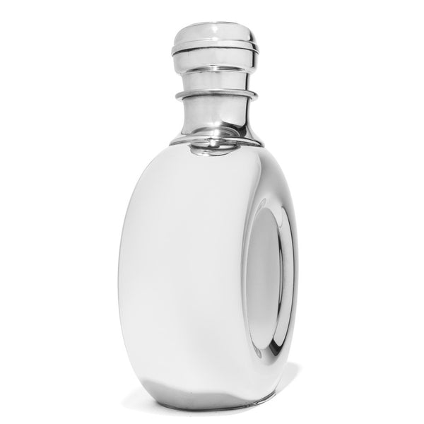 Wentworth - Pewter Round Decanter - MAN of the WORLD Online Destination for Men's Lifestyle - 2
