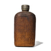 VINTAGE - Wicker Wrapped Flask with Pewter Top - MAN of the WORLD Online Destination for Men's Lifestyle - 1