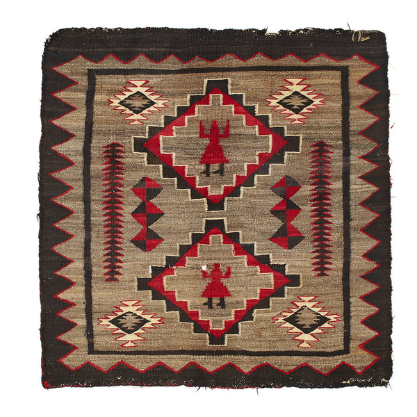 VINTAGE - Yei Rug - MAN of the WORLD Online Destination for Men's Lifestyle - 1