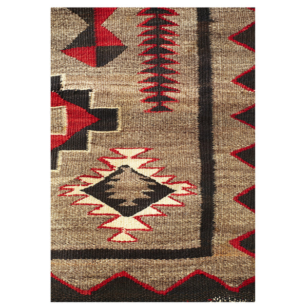 VINTAGE - Yei Rug - MAN of the WORLD Online Destination for Men's Lifestyle - 3