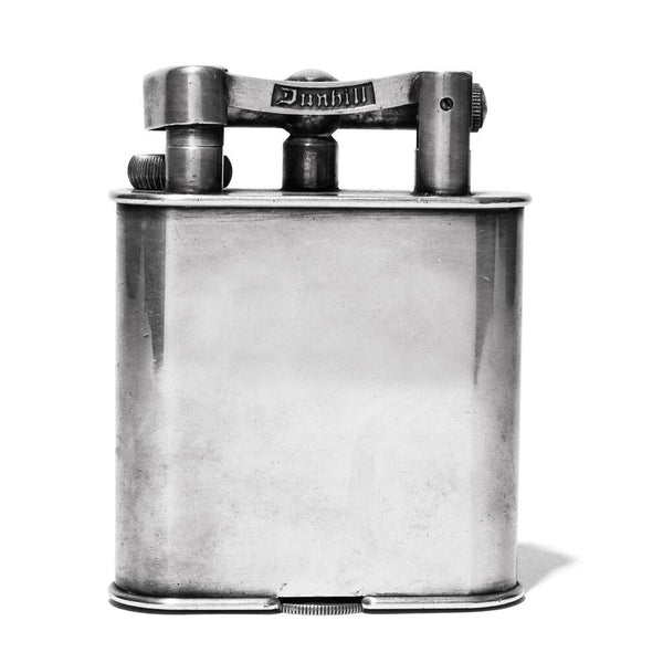 1940's Silver Plated Jumbo Lighter