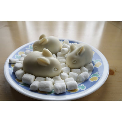 easter bunny cakes with bunny silicone mold yummy gummy molds