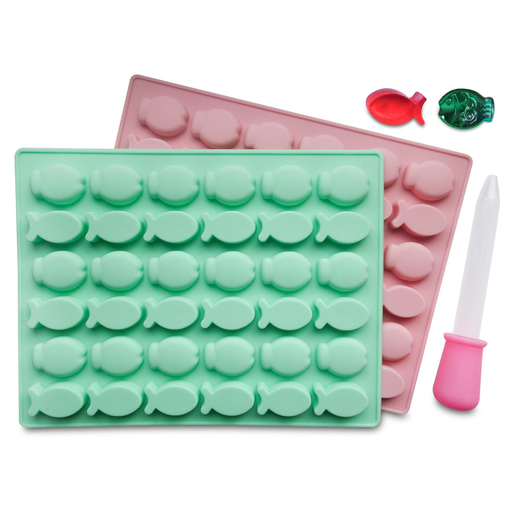 Fish Silicone Mold (2 Pack)