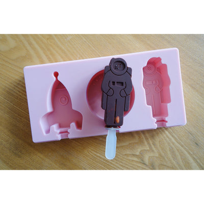 astronaut space cakesicle popsicle mold yummy gummy molds