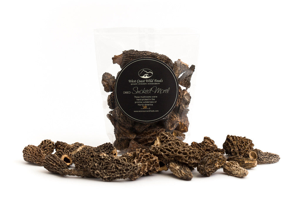 Dried Smoked Morel