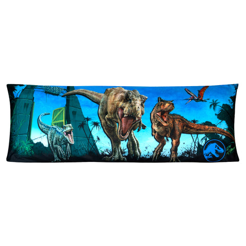 "Jurassic World 2 Body Pillow Cover with Zipper, Kids Bedding, 20""x54"" - FPI Ventures"