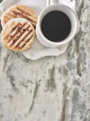 arepas and coffee - pals!